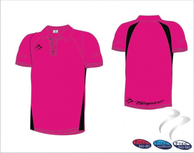 Black And Pink Shirt   Is Shirt