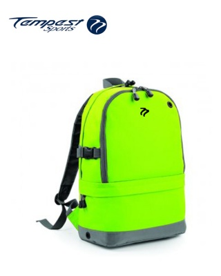 Tempest Sports Lime/Grey Backpack