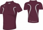 Evo Style Men's Maroon Grey Men Polo Playing Shirt