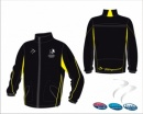 England Hockey Umpire Black Yellow Unisex Splash Jacket