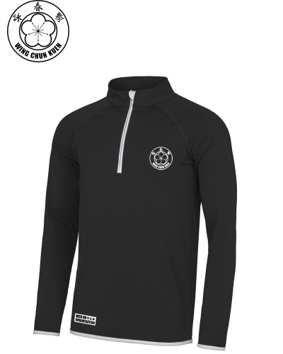 WCKUK Mens Black/White Midlayer