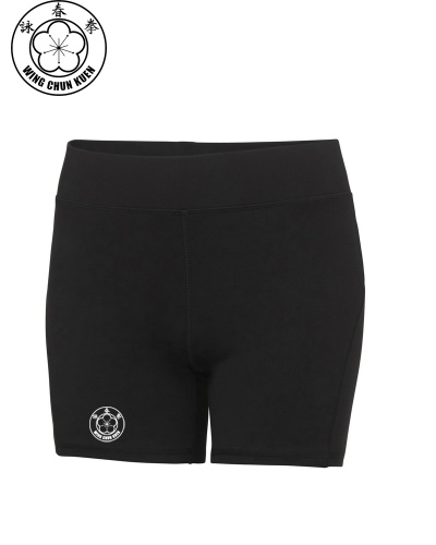 WCKUK Womens Black Training Shorts