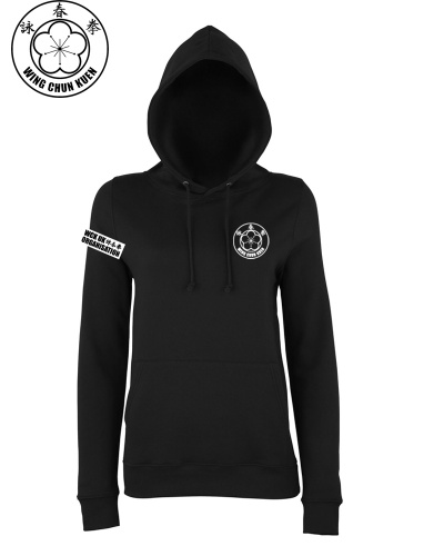 WCKUK Black Womens Hoody