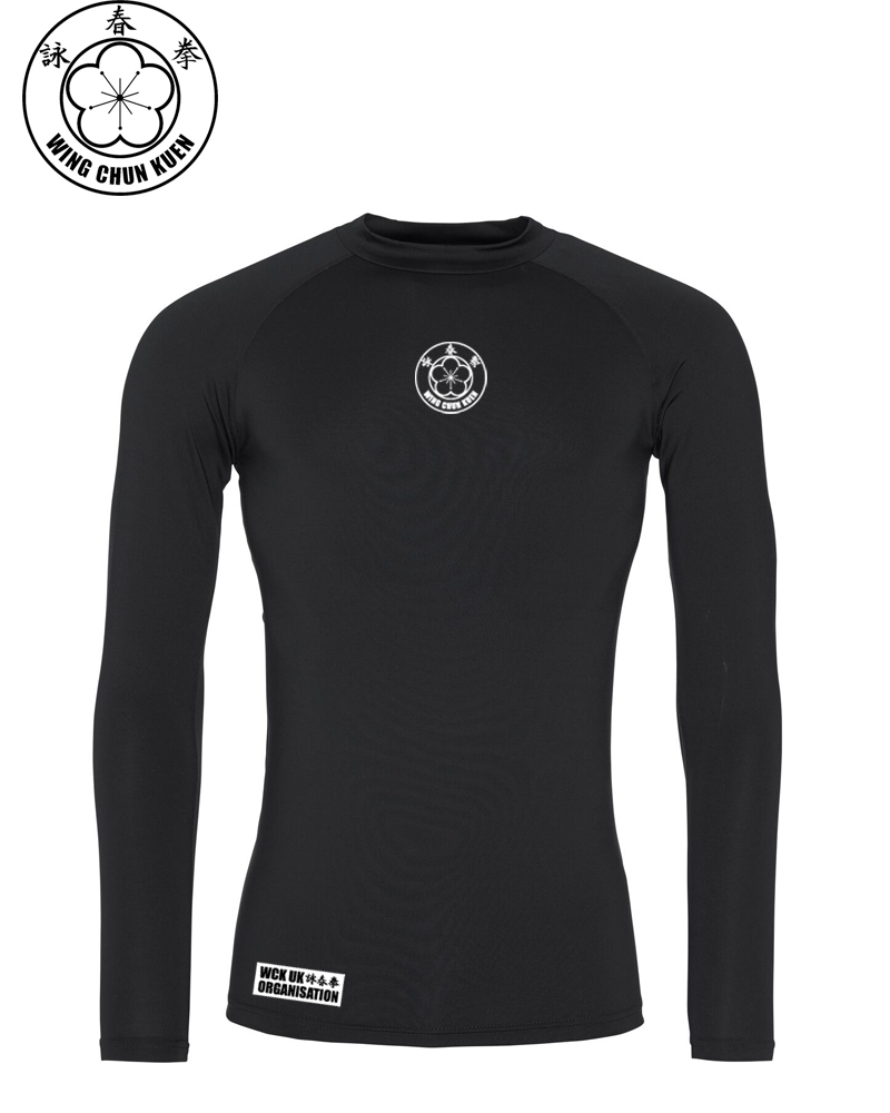 WCKUK Unisex Black Baselayer