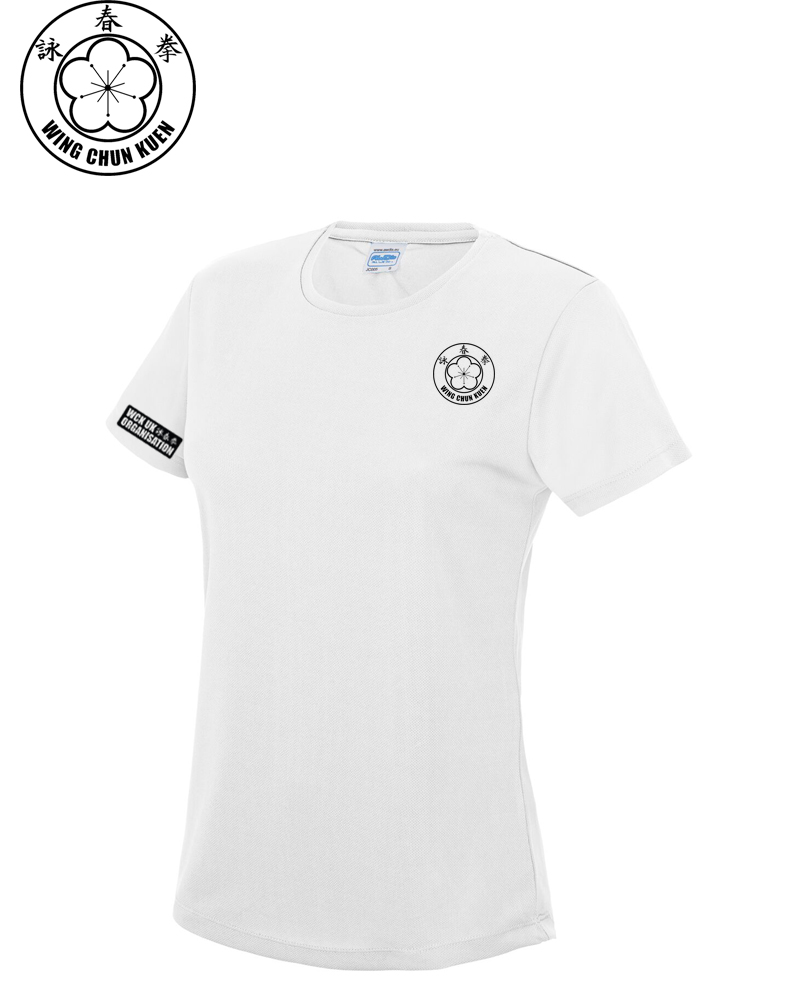 WCKUK Womens White Training Shirt