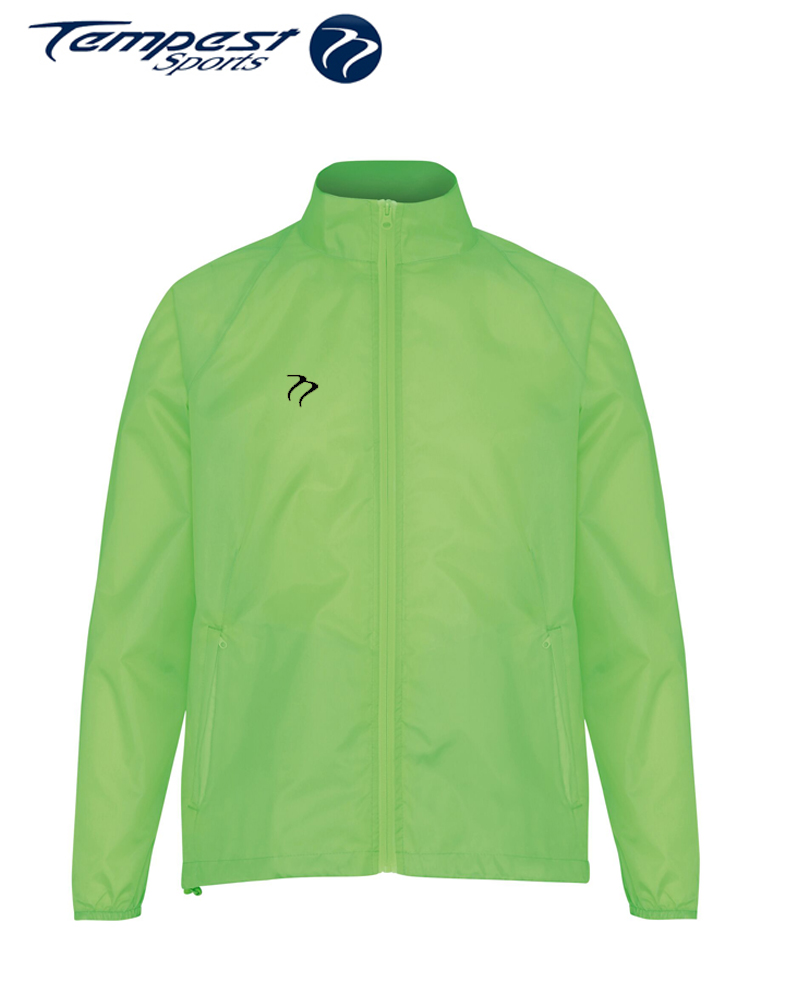 Umpires Lime Green Wind Breaker Jacket
