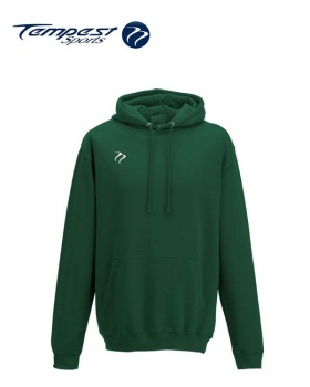 Tempest Lightweight Bottle Green Hooded Sweatshirt