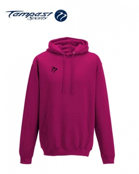 Tempest Lightweight Hot Pink Hooded Sweatshirt