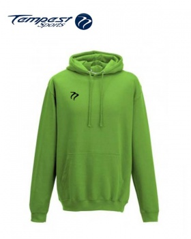 Tempest Lightweight Lime Green Hooded Sweatshirt