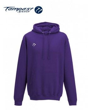 Tempest Lightweight Purple Hooded Sweatshirt