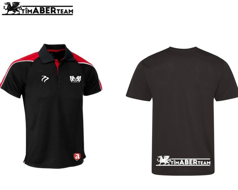 AUMHC CK Black Red Training Polo