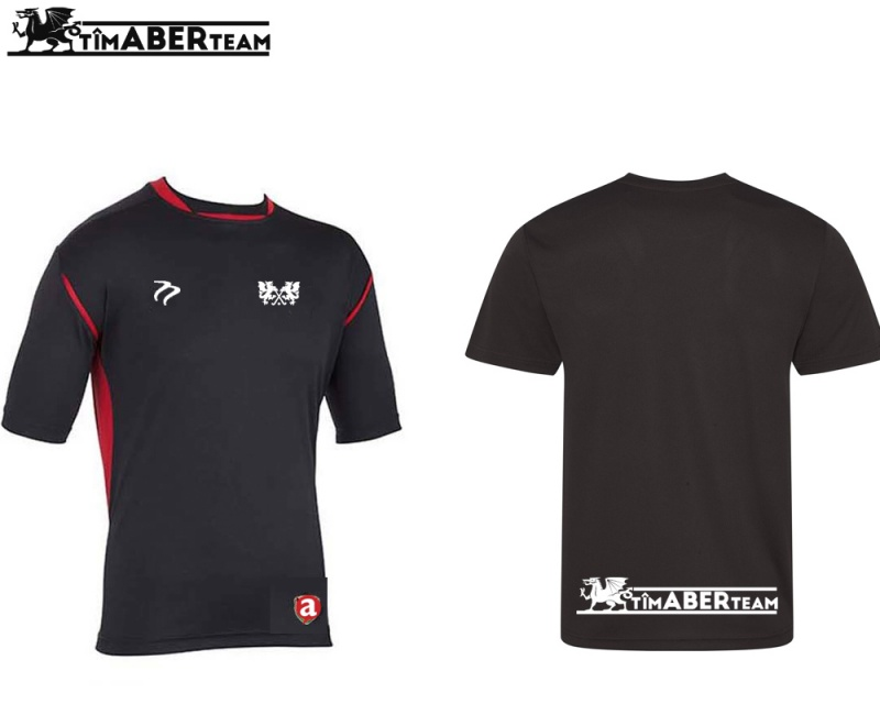 AUMHC CK Black Red Training Shirt