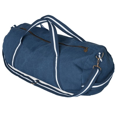 Tempest Navy Canvas Holdall