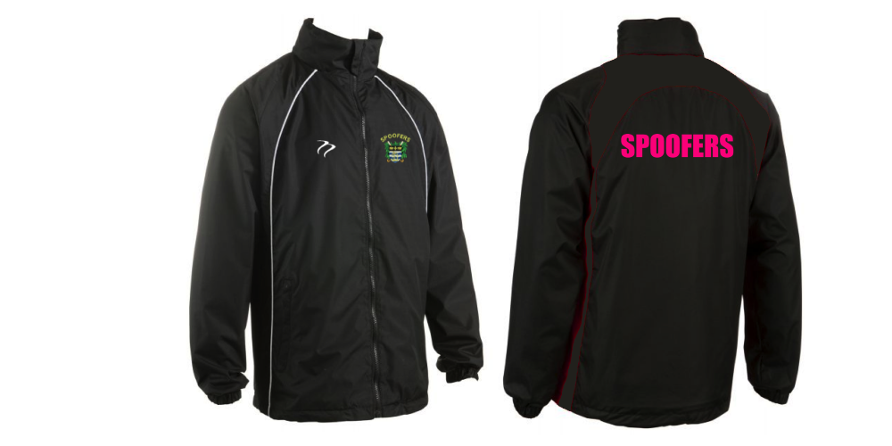 Spoofers Black Splash Jacket