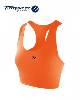 Ladies Tangerine Crop Top