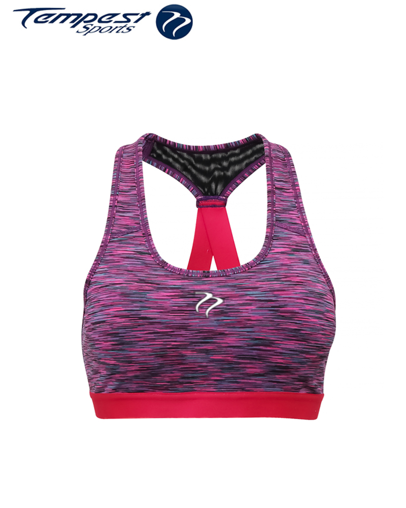 Ladies Space Pink Crop Top