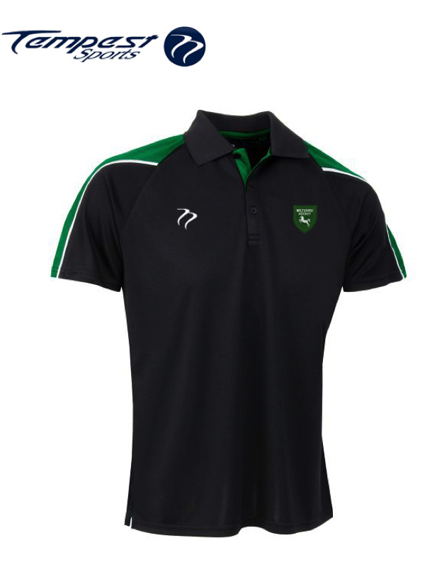 Wiltshire CK Womens Black Green Playing Shirt