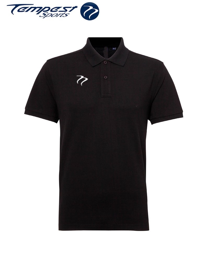 Poly/Cotton Mens Hockey Umpires Black Shirt