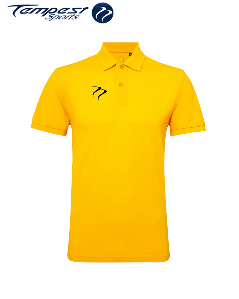 Poly/Cotton Mens Hockey Umpires Yellow Shirt