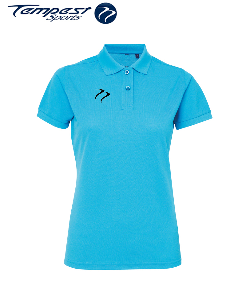 Poly/Cotton Hockey Umpires Turquoise Shirt
