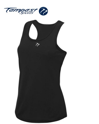 Tempest Women's Black Training Vest
