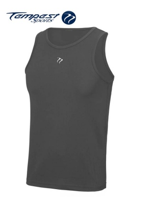 Tempest Charcoal Men's Training Vest