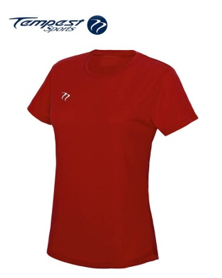 Tempest Women's Red Training T-shirt