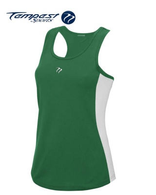 Tempest Women's Green White Training Vest