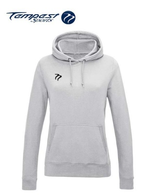 Tempest Lightweight Ladies Ash Hooded Sweatshirt