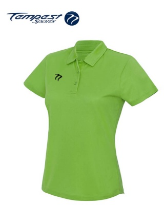 Ladies Premium Hockey Umpires Lime Shirt