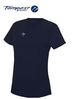 Tempest Women's Navy Training T-shirt