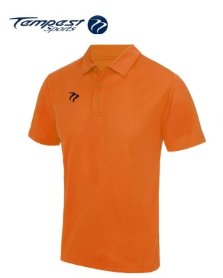Premium Hockey Umpires Orange Shirt