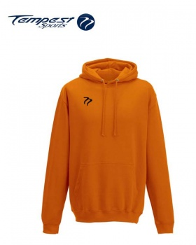 Tempest Lightweight Orange Hooded Sweatshirt