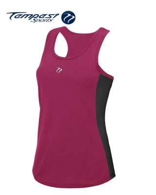 Tempest Women's Pink Black Training Vest