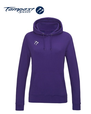 Tempest Lightweight Ladies Purple Hooded Sweatshirt