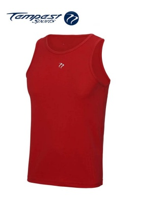 Tempest Red Men's Training Vest