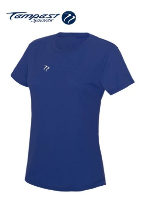 Tempest Women's Royal Training T-shirt
