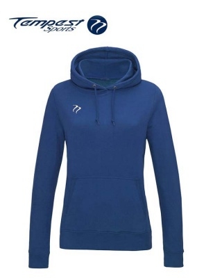 Tempest Lightweight Ladies Royal Hooded Sweatshirt