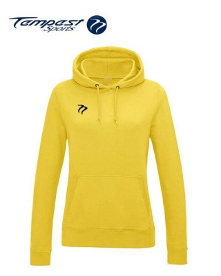 Tempest Lightweight Ladies Sun Yellow Hooded Sweatshirt