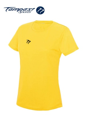 Tempest Women's Yellow Training T-shirt