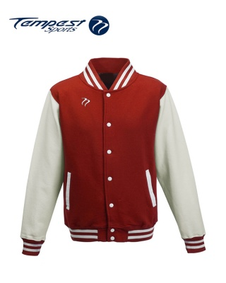 Tempest Varsity Red White Jacket