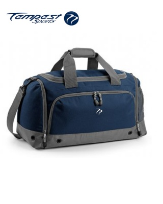 Tempest Sports Navy/Grey Holdall