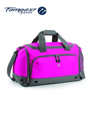 Tempest Sports Pink/Grey Holdall
