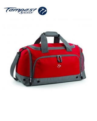 Tempest Sports Red/Grey Holdall