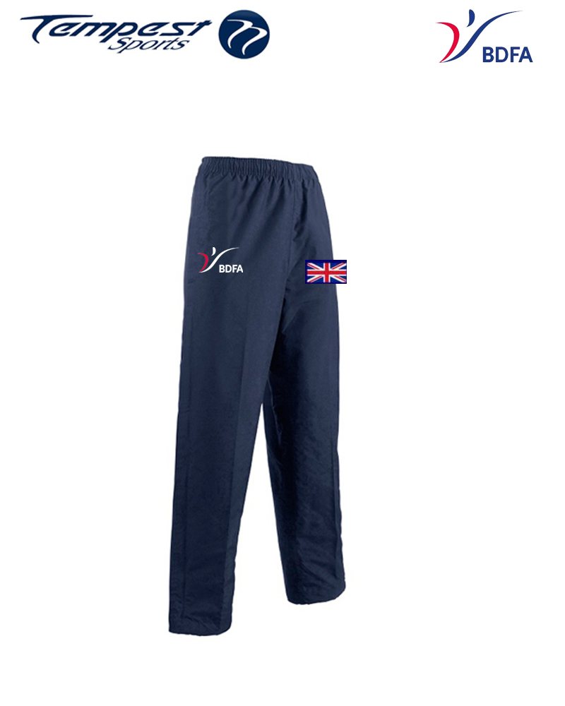 BDFA Competition Mens Navy Bottoms