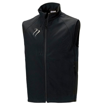 Black Soft Shell Gilet