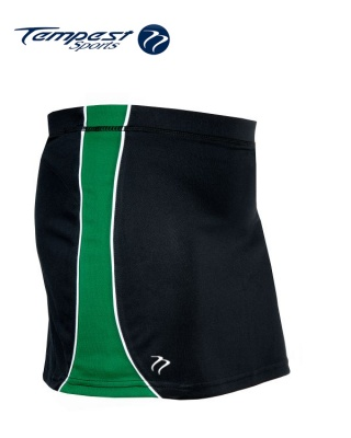 Tempest 'CK' Black Green Women's Skort
