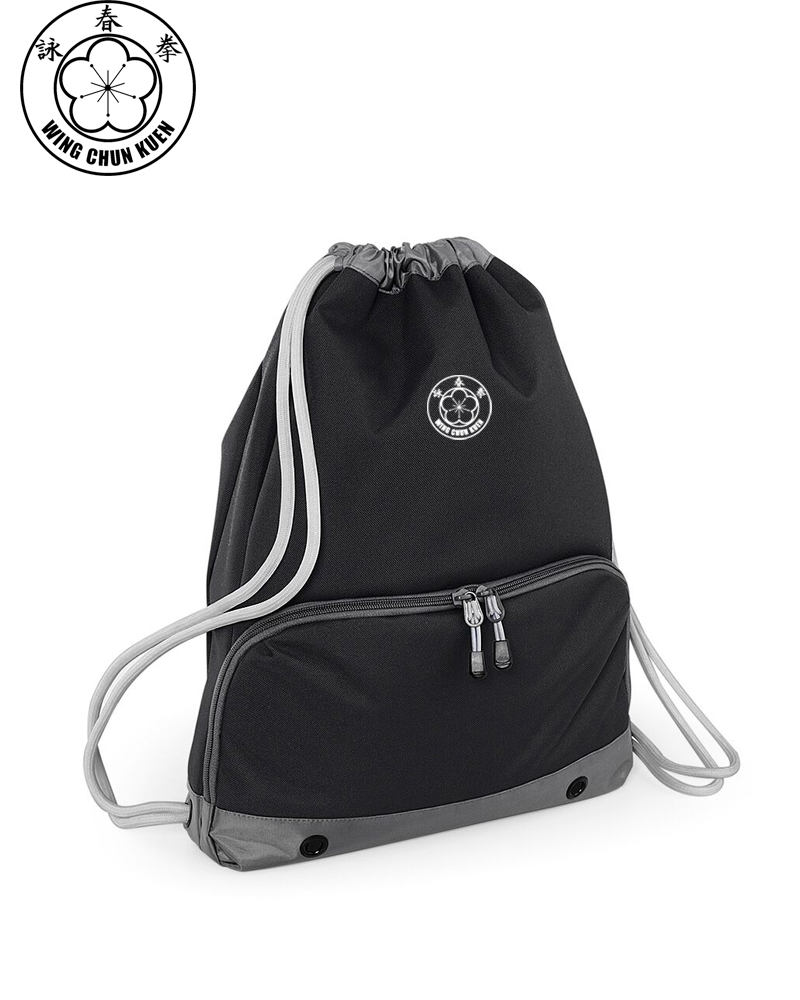 WCKUK Black/Grey Gymsac