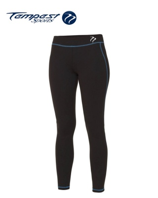 Tempest Black Sapphire Blue Women's Leggings