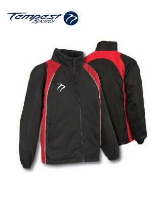 Tempest 'CK' Black Red Splash Jacket
